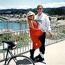 Bicycling in Monterey